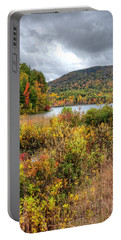 Wachusett Mt. In Autumn Portable Battery Charger
