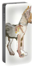 Waggle Arabian Wolf Pup Portable Battery Charger