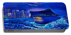 Waikiki Lights Portable Battery Charger