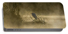 Portable Battery Charger featuring the photograph Waiting For The Sun by Steven Sparks