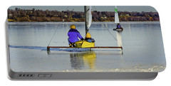 Waiting For Wind Portable Battery Charger by Gary Slawsky