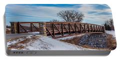 Walk Across Bridge Portable Battery Charger by Doug Long