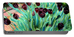 Walk Among The Tulips Portable Battery Charger