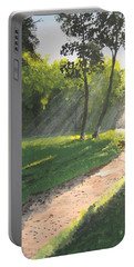 Walk Into The Light Portable Battery Charger by Norm Starks