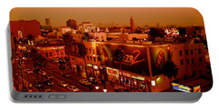 Walk Of Fame Hollywood In Orange Portable Battery Charger