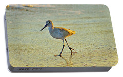 Portable Battery Charger featuring the photograph Walk On The Beach by Cynthia Guinn