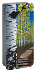 Walk Through Aspens Triptych 1 Portable Battery Charger