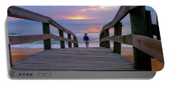Walking Into Paradise Portable Battery Charger