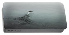Walking On Water Portable Battery Charger by Randi Grace Nilsberg