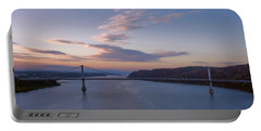 Walkway Over The Hudson Dawn Portable Battery Charger