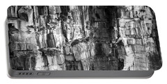 Portable Battery Charger featuring the photograph Wall Of Rock by Miroslava Jurcik
