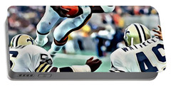 Walter Payton Portable Battery Charger
