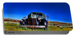 Wanna Ride - Bodie Ghost Town By Diana Sainz Portable Battery Charger