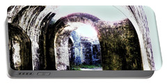 War At Fort Pickens Portable Battery Charger by Faith Williams