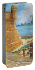 Warm Days In St. Augustine Portable Battery Charger