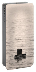 Warning Midwest Floods Portable Battery Charger
