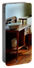 Wash Basin And Towel Portable Battery Charger