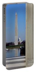 Washington Landmarks Portable Battery Charger