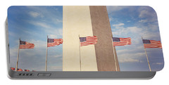 Washington Monument Washington Dc Usa Portable Battery Charger