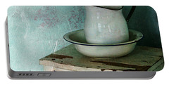 Washstand Still Life Portable Battery Charger