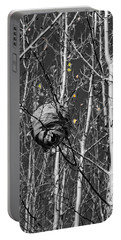 Wasp Nest In Aspen Portable Battery Charger