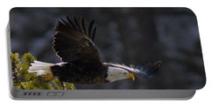 Portable Battery Charger featuring the photograph Watching The River by J L Woody Wooden