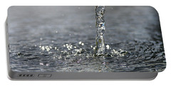 Water Beam Splashing Portable Battery Charger