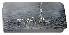 Water Beam Splashing Portable Battery Charger