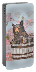 Water Bear Portable Battery Charger by Phyllis Kaltenbach