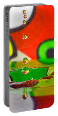 Portable Battery Charger featuring the photograph Water Dew by Peter Lakomy