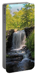 Water Fall Moore State Park 2 Portable Battery Charger