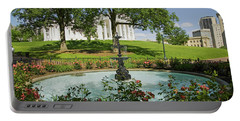 Water Fountain And Virginia State Portable Battery Charger