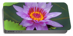 Water Lilies 005 Portable Battery Charger