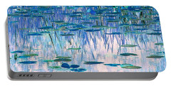 Portable Battery Charger featuring the photograph Water Lilies by Chris Anderson