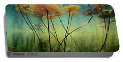 Water Lilies Portable Battery Charger by Frans Lanting MINT Images