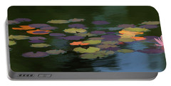 Water Lilies  Nymphaeaceae  On A Pond Portable Battery Charger