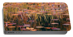 Portable Battery Charger featuring the photograph Water Lilies Re Do by Chris Anderson