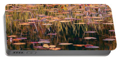 Water Lilies Revisited Portable Battery Charger