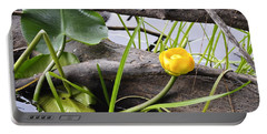Portable Battery Charger featuring the photograph Water Lily by Cathy Mahnke