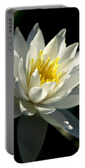 Portable Battery Charger featuring the photograph Water Lily by Christina Rollo