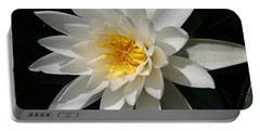 Portable Battery Charger featuring the photograph Water Lily  by Denyse Duhaime