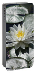 Portable Battery Charger featuring the photograph Water Lily II by Anita Oakley