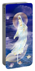 Water Moon Avalokitesvara  Portable Battery Charger