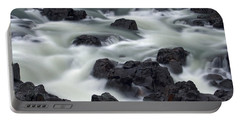 Water Over Rocks Portable Battery Charger
