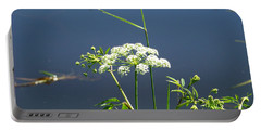 Water Parsnip On Conboy Lake Portable Battery Charger