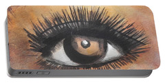 Watercolor Eye Portable Battery Charger
