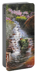Waterfall Garden Portable Battery Charger