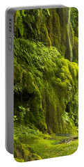Portable Battery Charger featuring the photograph Waterfall In Green by Bryan Keil