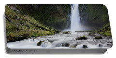 Waterfall In Oregon Portable Battery Charger