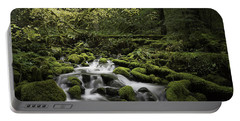 Waterfall In The Fall Portable Battery Charger
